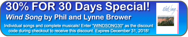 Wind Song 30% Off for 30 Days!