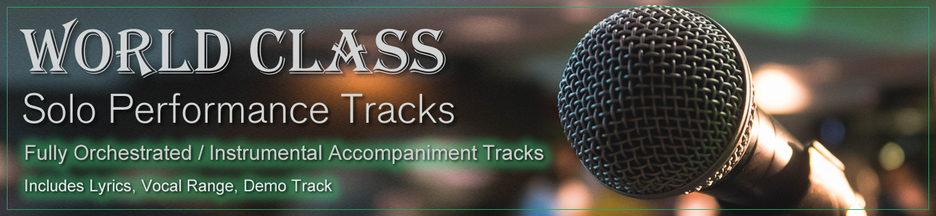 Solo Performance Tracks - Great Stuff Music Company